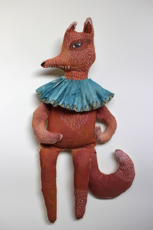 Fabulous fox doll full