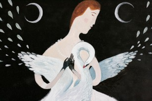 Anna Saint of Swans painting 05
