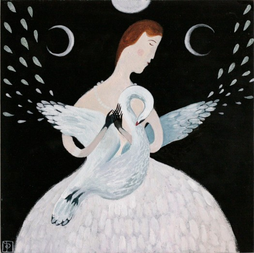 Anna Saint of Swans painting 07