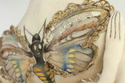 moth embroidery