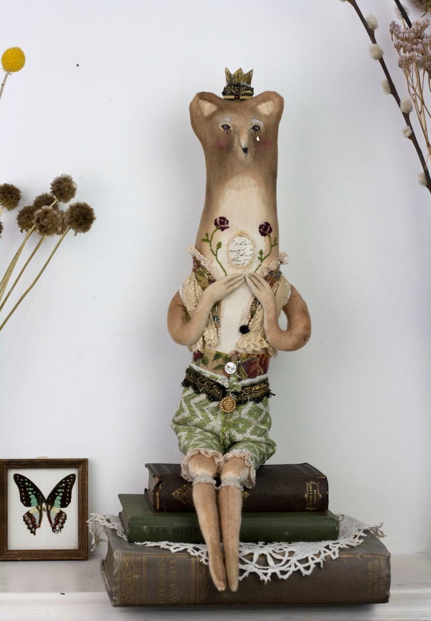 art doll fabric