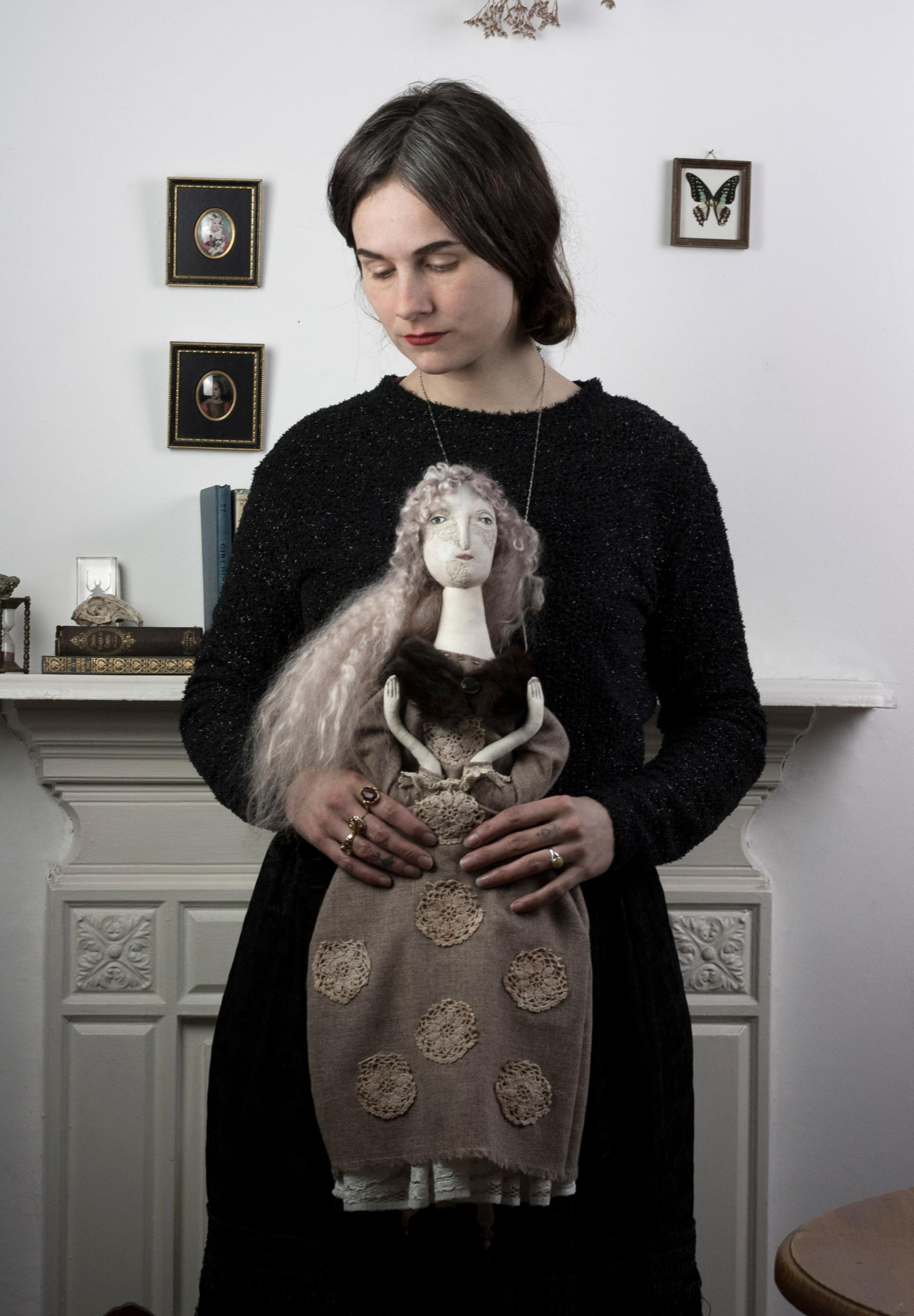 Pantovola Female Folk Artist and Dollmaker
